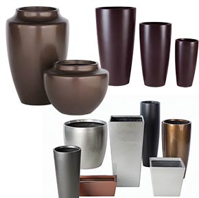 Architectural supplement decorative containers